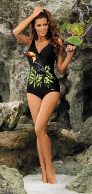 Dámské plavky Marko Greta 2016 s exotickým potiskem