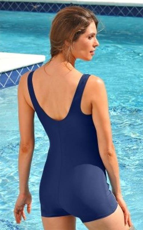 Plavecké plavky s nohavičkami
