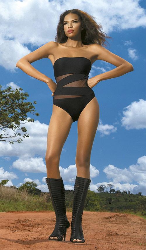 Dámské jednodílné plavky She Tiffany Wild Safari