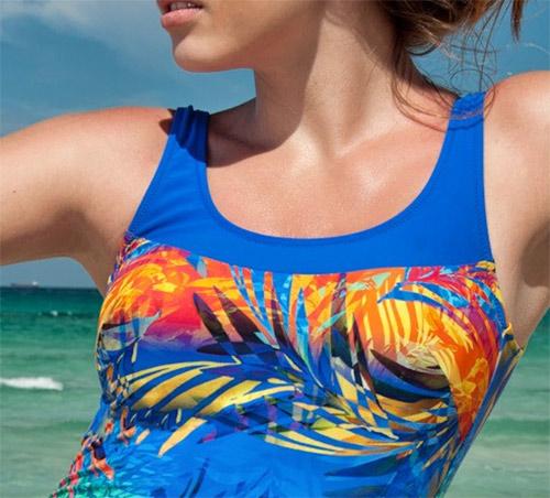 Hravé dámské jednodílné plavky Timo 2014