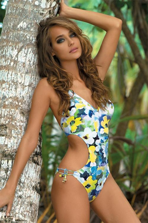 Luxusní plavky Natalie