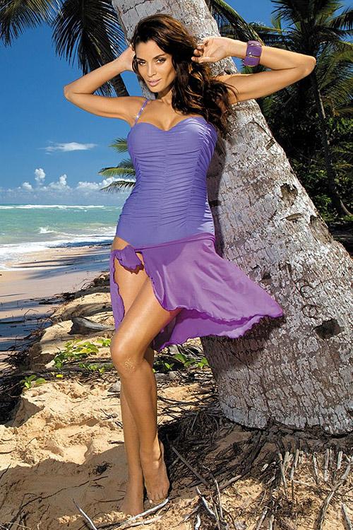 Světle fialové plavky Marko Gabrielle 2 Provence