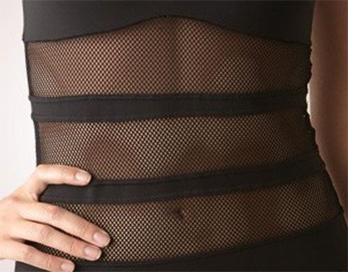 Částečně průsvitné plavky Britney Spears Intimate Miami Vice