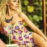 Plavky Maria Bonita by PHAX Sereia s květinovým vzorem