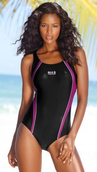 Sportovní jednodílné plavky značky H.I.S.