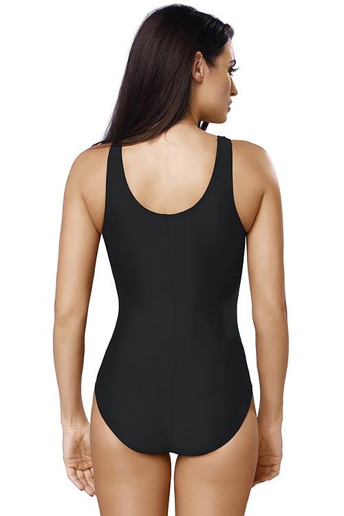 Černé jednodílné plavecké plavky