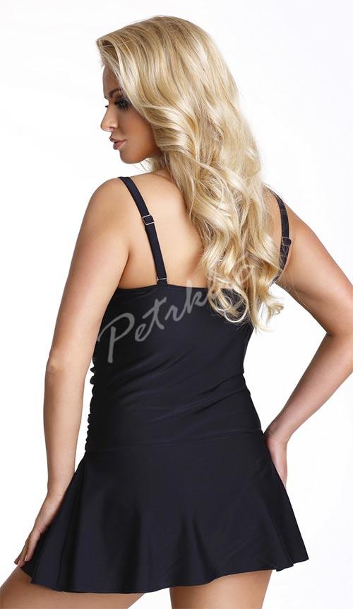 Černé plavkové šaty Adriana