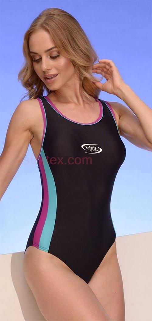 Dámské jednodílné sportovní plavky Alex