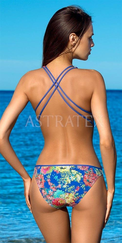 Jednodílné plavky Zara se sportovními ramínky a odhalenými zády