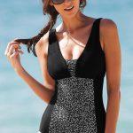 Jednodílné tvarující plavky bez kostic - Blancheporte
