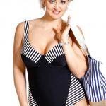 Stahovací jednodílné plavky pro starší
