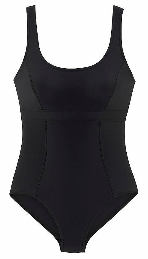 Dámské černé sportovní plavky