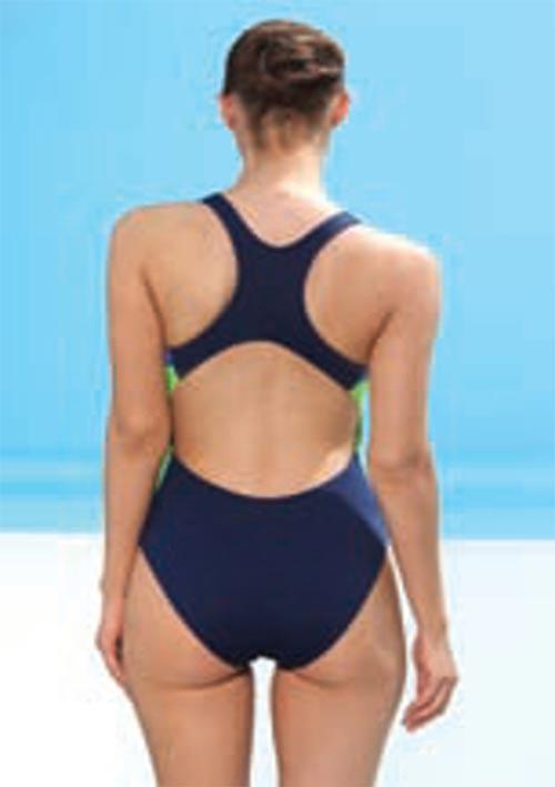Modré plavecké plavky