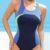 Sportovní dámské jednodílné plavky