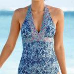 Glamour plavky s vyjímatelnými vycpávkami