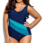 Jednodílné sportovní plavky se všitými košíčky i pro větší poprsí