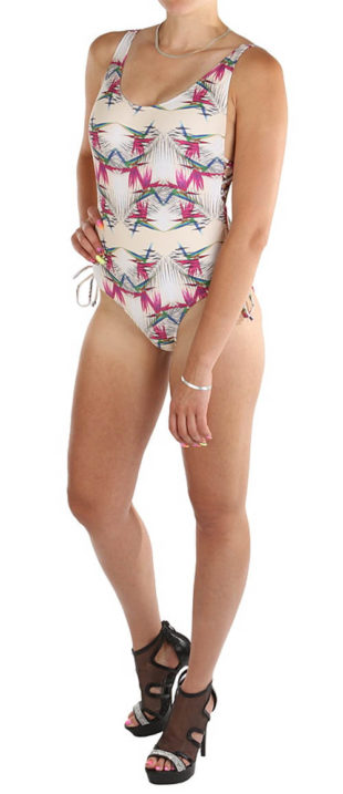 Levné výprodejové dámské jednodílné plavky