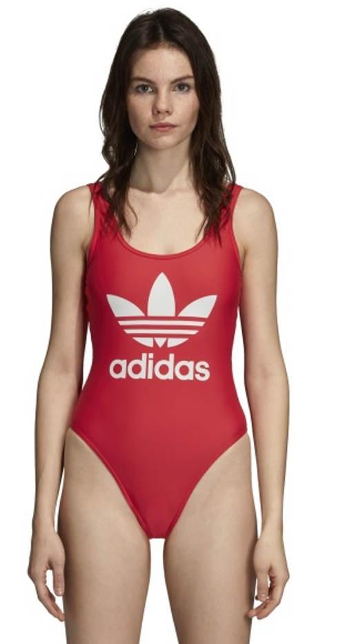 Dámské plavky Adidas s velkým logem