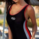 Jednodílné plavky na sportovní plavání Volin Alex