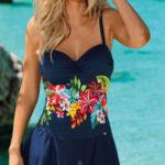 Dámské plavky se sukní Self Tropico