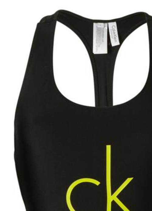Dámské plavky Calvin Klein sportovního střihu