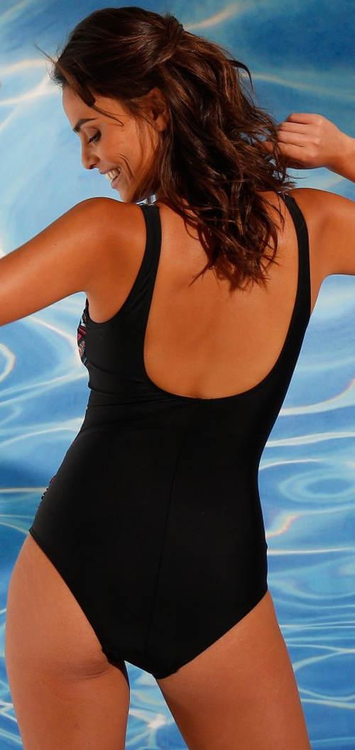 Zeštíhlující plavky se stahovací podšívkou