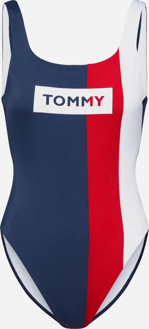 Značkové dámské jednodílné plavky Tommy Hilfiger
