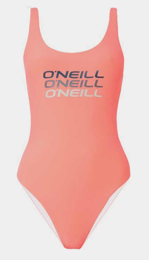 Růžové dámské sportovní jednodílné plavky O'Neill
