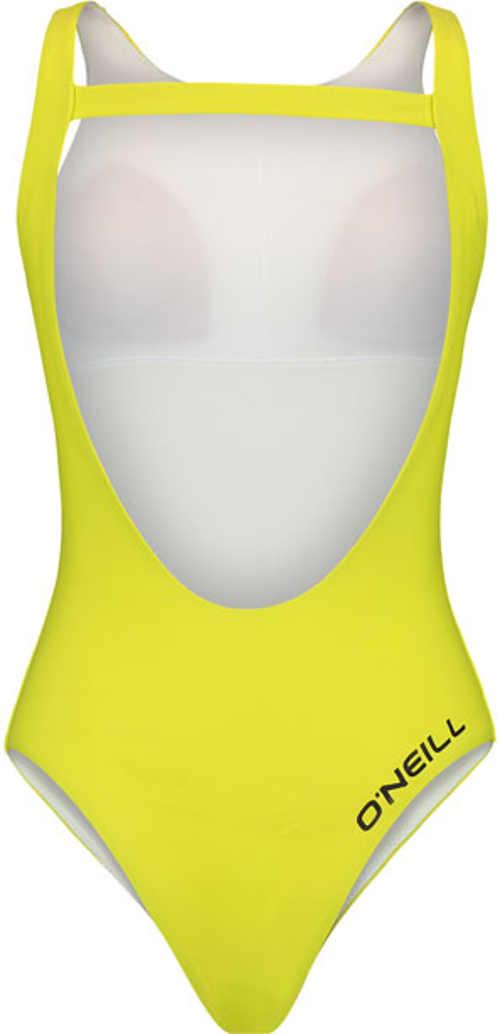 moderní plavky vcelku ve svěžím barevném designu