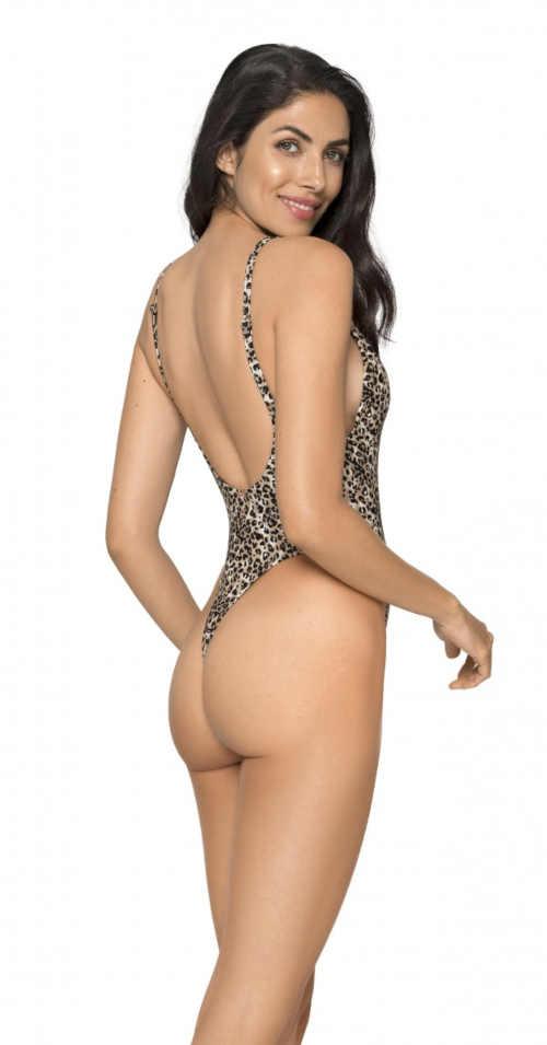 sexy monokiny vcelku s leopardím vzorem