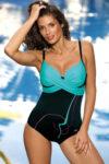 Moderní plavky s efektivním překřížením v přední části