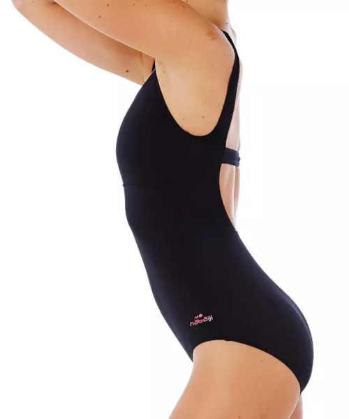 plavky sportovního střihu Heva černé
