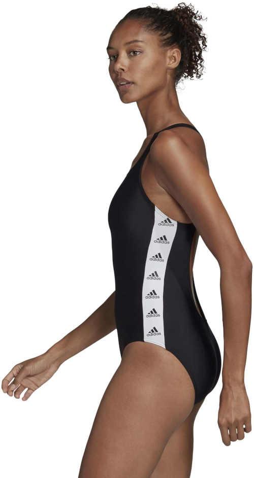 plavky vcelku sportovního střihu Adidas