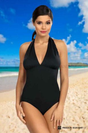 Elegantní jednodílné plavky Jasmine v černém provedení
