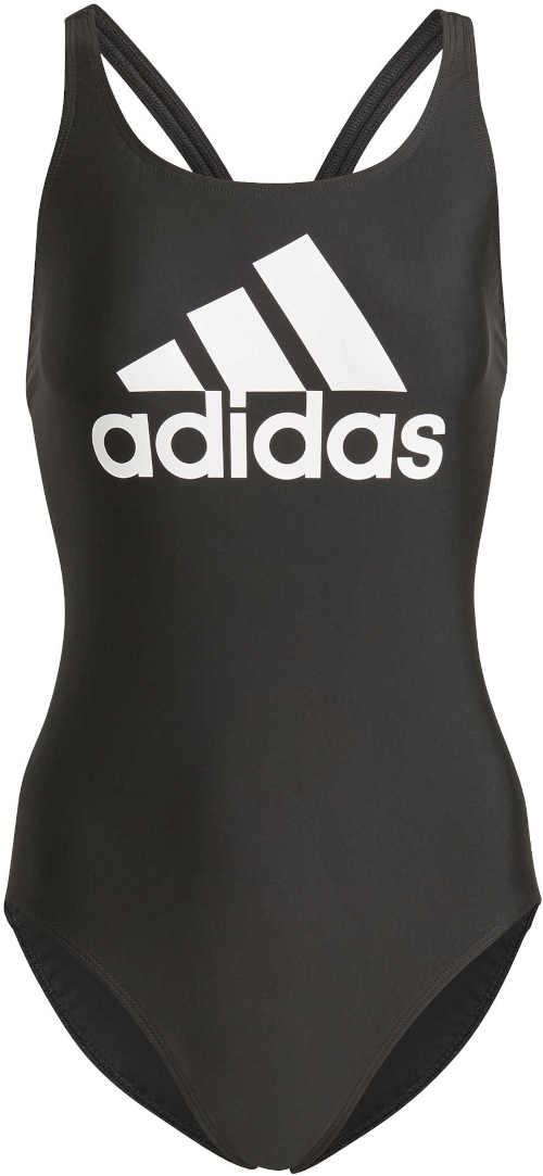 Sportovní jednodílné plavky Adidas odolné vůči chloru